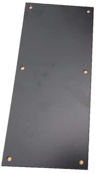 PLATE COVER PEDAL HOLE PASSENGER (LARGE)