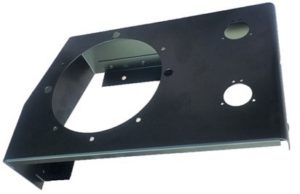 LIGHTWEIGHT FRONT HEADLAMP BOX O/S