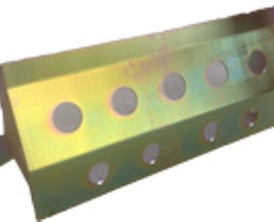 RR/DISCOVERY STEERING GUARD (ZINC PASSIFATE)
