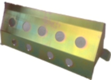 R/ROVER/ DISCOVERY STEERING GUARD(LHD) (ZINC PASSIFATE)