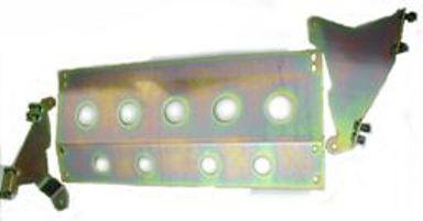 RRC/ D1 & D2 LHD 3 PCE STEERING GUARD (ZINC PASSIFATE)