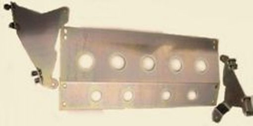 RR DISCOVERY STEERING GUARD 3 PCE GALV