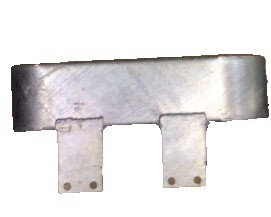 SERIES / MILITARY FRONT BUMPERETTE GALVANISED