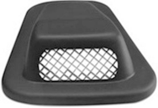 O/S R/HAND DEF AIR SCOOP LOW PROFILE WITH GRILL