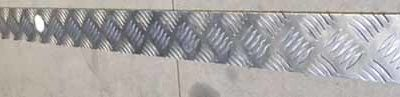 MILITARY DEFENDER BUMPER CHEQUER PLATE COVER
