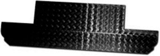90 BULKHEAD PANEL CHEQUER PLATE BLACK