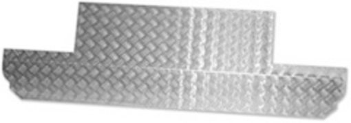 90 BULKHEAD PAN (3MM SATIN ANODISED)