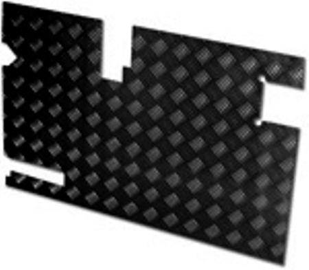 SAFARI DOOR CASING 90MM WIPER CUT OUT BLACK 3MM