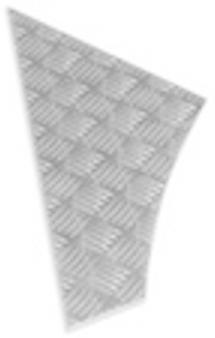 SAFARI REAR LOWER QTR-SATIN ANODISED FINISH 3MM