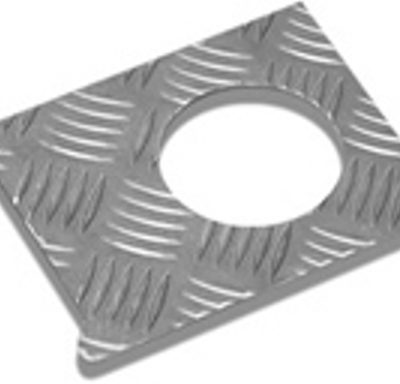 FUEL FILLER T/PLATE COVER 3MM