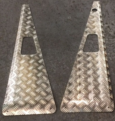 ORIGINAL STYLE WING TOPS WITH AERIAL HOLE - LHD