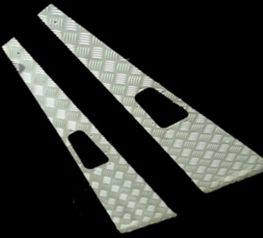 ORIGINAL STYLE WING TOPS 3MM SATIN ANODISED