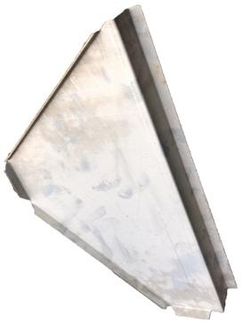 FOOTWELL END PLATE N/S