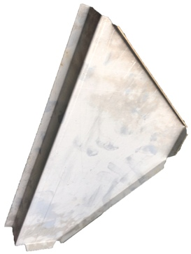 FOOTWELL END PLATE O/S