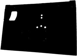 90/110 SAFARI DOOR SKIN (CARRIER HOLES)