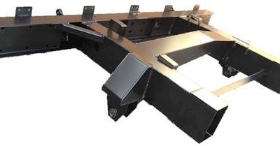 """109""""  REAR 1/4 CHASSIS WITH EXT INC SPRING HANGERS (LR56)"""