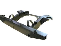 DEF 90 HEAVY DUTY REAR 1/3 CHASSIS EXTRA LONG LEGS