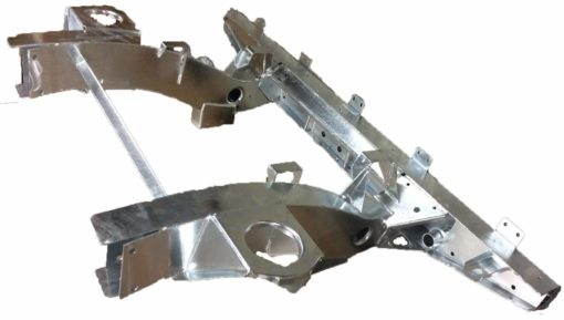 DEF 90 REAR 1/3 CHASSIS EXTRA LONG LEGS GALVANISED