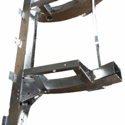 DEF 110 HEAVY DUTY GALVANISED REAR 1/4 CHASSIS LONG LEGS