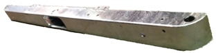 MILITARY FRONT BUMPER GALV