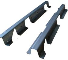 DOOR STRENGTHENING BRACKETS (FOR SPARE WHEEL)