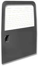 LATE DEFENDER REAR DOOR WITH HEATED GLASS