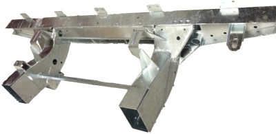 90 REAR CROSS MEMBER WITH LEGS GALVANISED