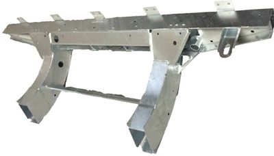 110 CROSSMEMBER WITH EXT 3MM  HEAVY DUTY GALVANISED