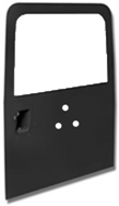 LATE DEFENDER REAR DOOR WITH PLAIN GLASS (CARRIER HOL