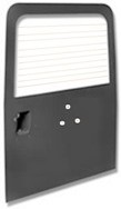LATE DEFENDER REAR DOOR WITH HEATED GLASS (CARRIER HOL