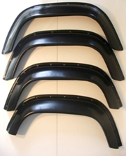 EXTRA WIDE W/ARCH SPATS GLOSS FINISH(2 front/2 rear)