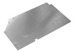 90/110 FRONT FLOOR PLATE 4 CYL 200TDI 3MM PLATE