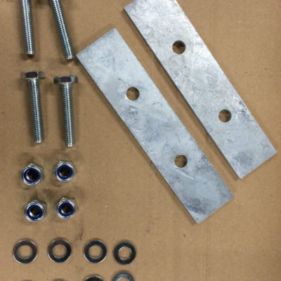 COIL SPRING RETAINER PLATES 110, 130 Rear