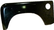 N/S SERIES FRONT WING N/S ABS PLASTIC WITH AIR INTAKE
