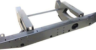 110 TD5 HEAVY DUTY REAR CROSSMEMBER WITH LONG 750mm EXT