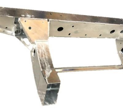 DEFENDER TD5 110 REAR CROSSMEMBER WITH 450MM EXTENTIONS GALVANISED