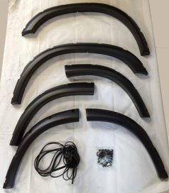 DISCO 2 EXTRA WIDE WHEEL ARCH SET IN HDPE