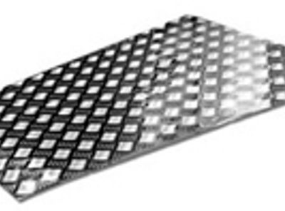 ALLOY TREADPLATE BONNET PROTECTOR -3MM