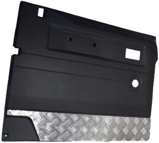 DEFENDER FRONT DOOR CHEQUER KICK PLATE