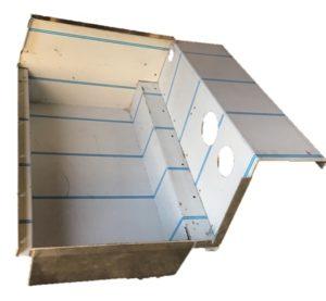 LANDROVER DEFENDER TOOL BOX O/S EXTRA DEEP