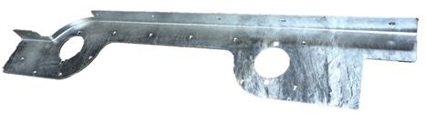 TD5 DEFENDER GALVANISED REAR QUARTER FLASHING
