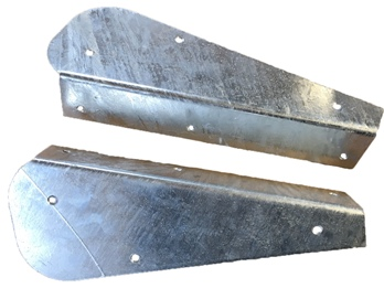 GALVANISED REAR MUDFLAP BRACKETS