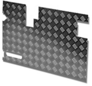 TREAD PLATE DOOR CARCASS( EARLY) 90MM WIPER CUTOUT