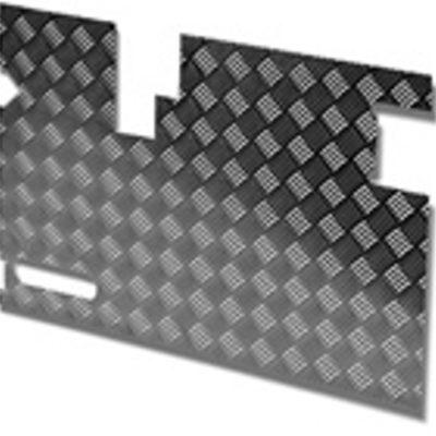 TREAD PLATE DOOR CARCASS( EARLY) 90MM WIPER CUTOUT