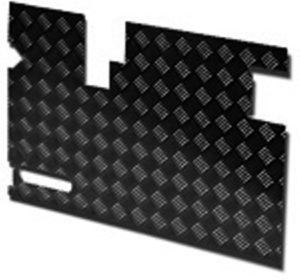 TREAD PLATE DOOR CARCASS(EARLY) 90MM CUTOUT- BLACK- 3MM