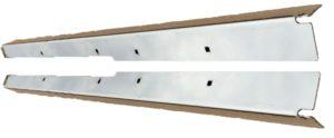 FRONT DOOR FLOOR RETAINER (STAINLESS STEEL) PAIR