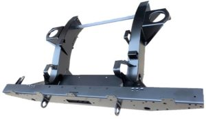 DEF 90 REAR WINCH CROSSMEMBER WITH 900MM EXTENSIONS GALV