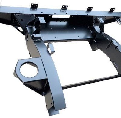 DEF 90 REAR WINCH CROSSMEMBER WITH 900MM EXTENSIONS