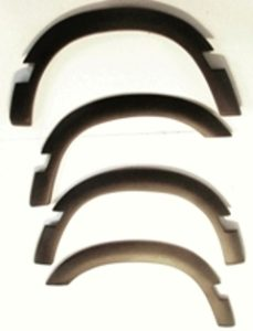 DISCO1 WHEEL ARCH KIT 3 DR WITH BODY MOULDINGS CUTOUT