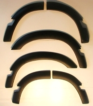 DISCO1 WHEELARCH KIT 5 DR WITH BODY MOULDINGS CUTOUT